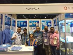 Kang Mingna FIME 2017 American Medical Exhibition concluyó con éxito