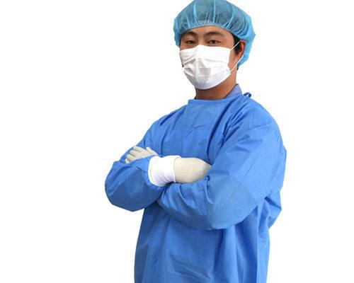 Bata quirúrgica reforzada
