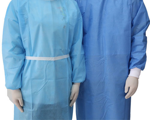Bata quirúrgica no tejida