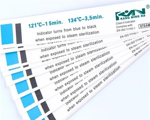 Tarjeta indicadora de vapor de cuatro etapas