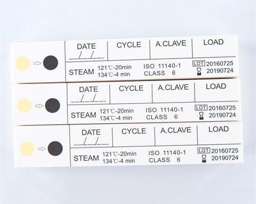 Tarjeta de indicador de vapor de seis etapas
