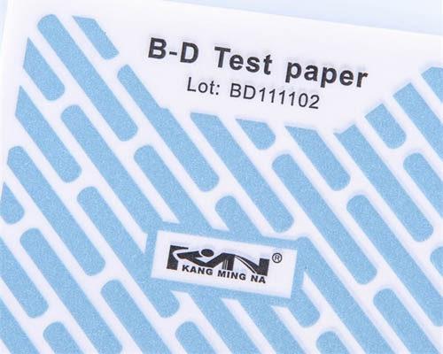Paquete de prueba Bowie-Dick / papel