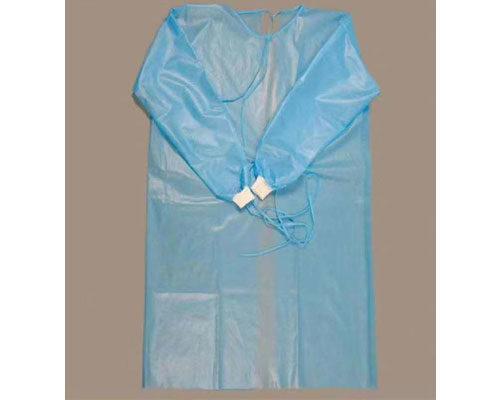 Traje de aislamiento desechable antidesgaste (PP+PE Compuesto)