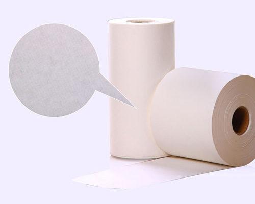 Producción y aplicación de papel engomado y film plástico
